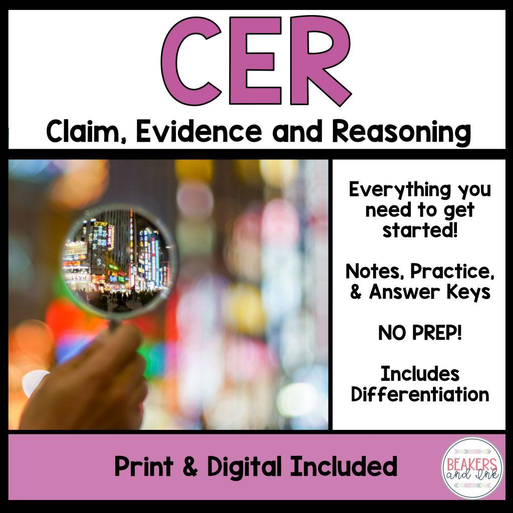 claim-evidence-reasoning