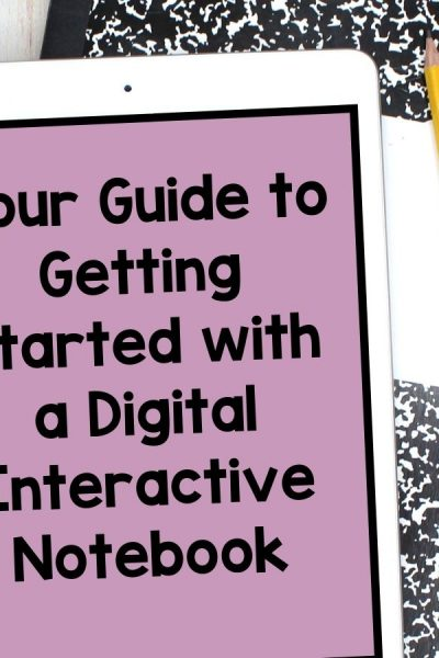 guide to digital interactive notebook