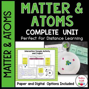 activities for teaching atoms includes foldable, presentation, atomic structure activity