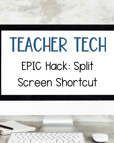 split screen shortcut for windows and chromebooks