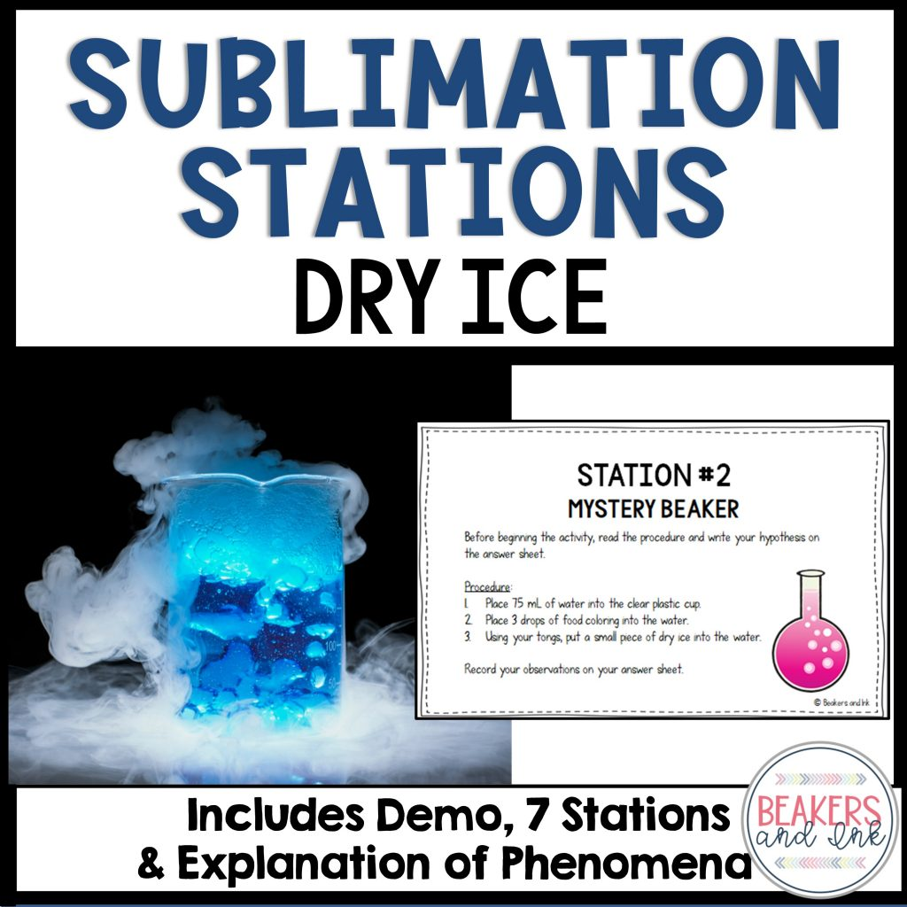 dry ice experiments for students