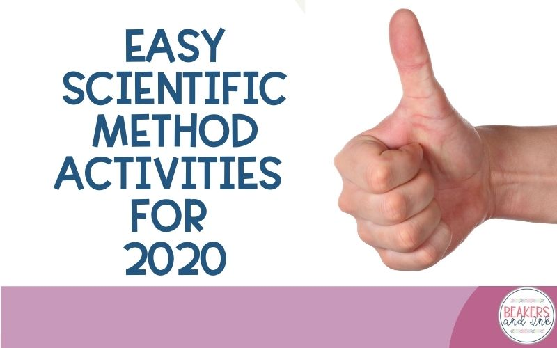 easy scientific method activities