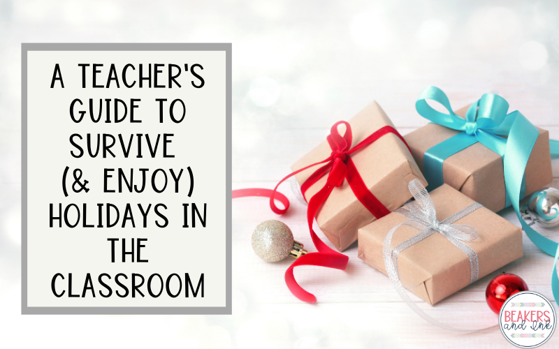 teacher holiday survival guide