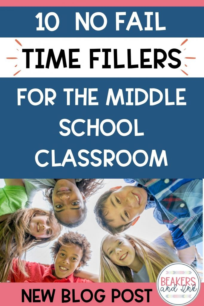 time-fillers-for-middle-school